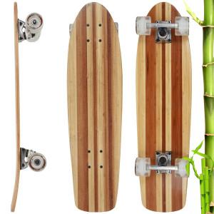 601c6aec551 Top 10 da Centauro  O skate X7 Mandala Bamboo da empresa Bamboo Skateboards  entrou para o top 10 produtos mais vendidos da maior rede de produtos  esportivos ...