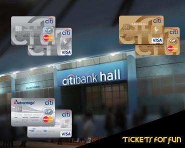 Benefícios no Citibank hall